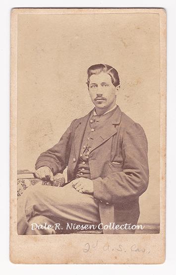 John Surine 2nd US Cavalry and 17th NYVI fom Michigan