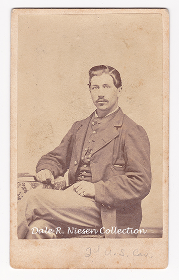 John Surine 2nd US Cavalry and 17th NYVI fom Michigan