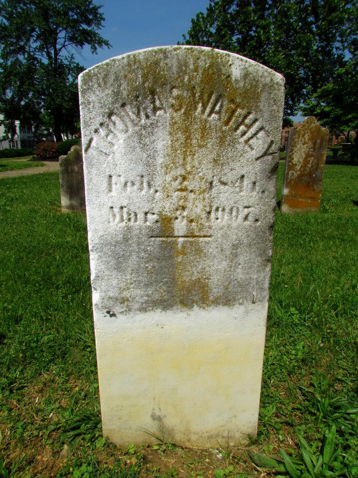 Wathey grave 6US